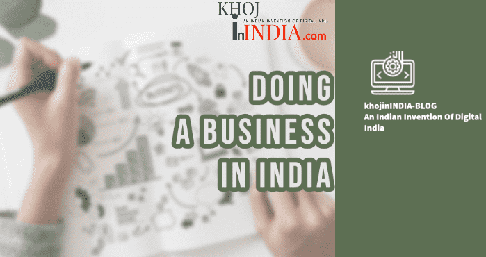 Doing a Business in India